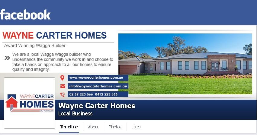 facebook page design wagga