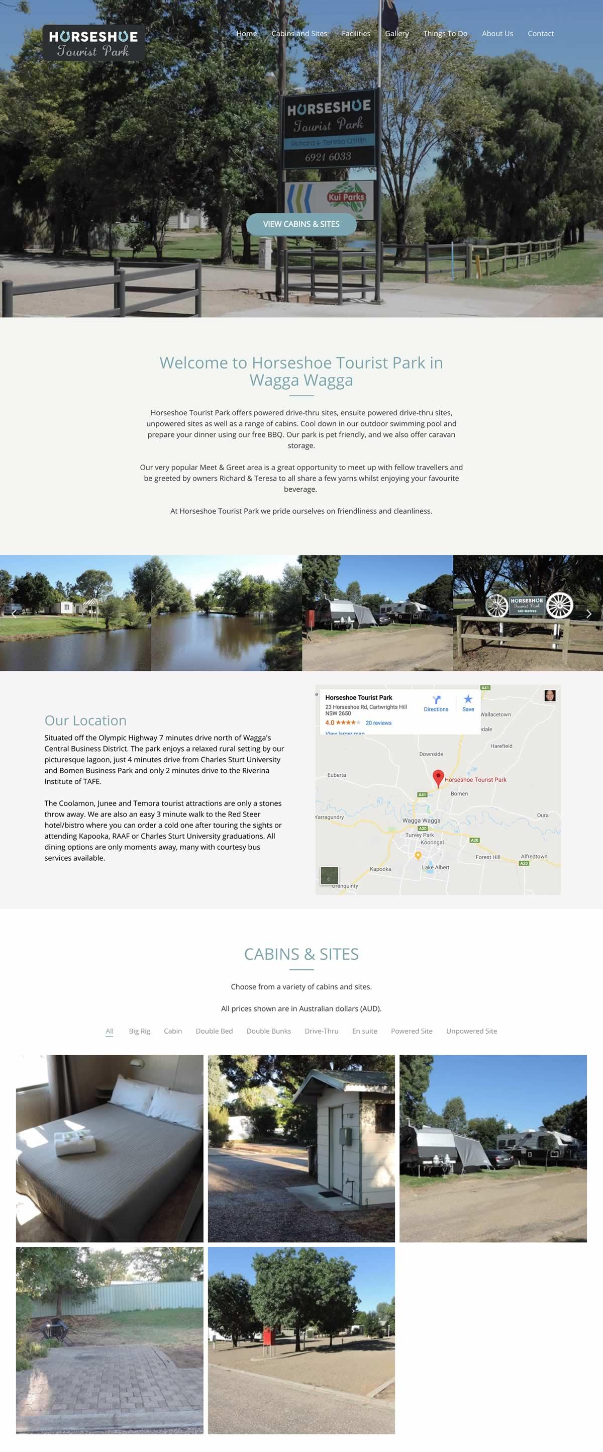 Horseshoe Tourist Park
