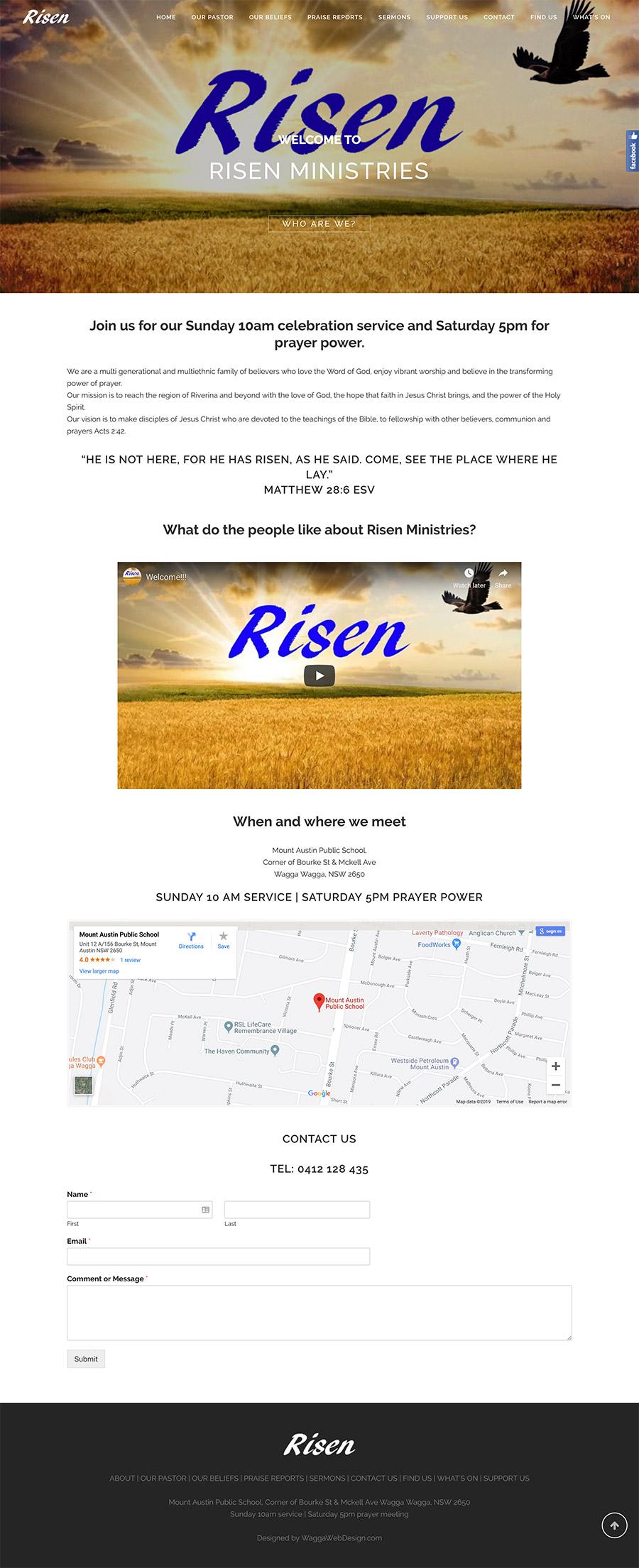 Risen Ministries