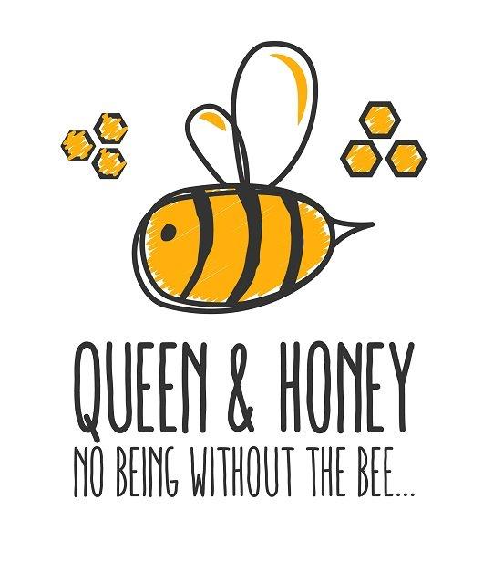 Queen and Honey logo
