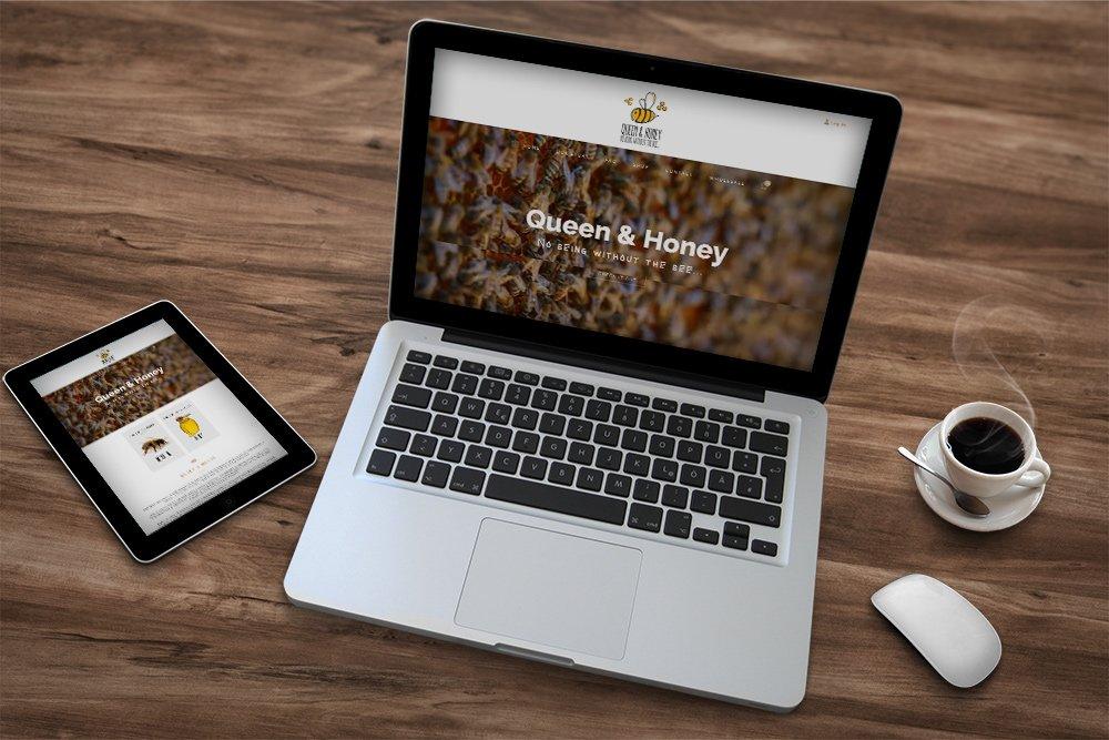 Queen and Honey website